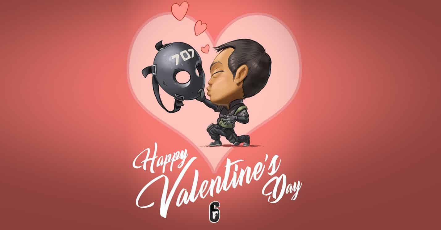 Rainbow Six Siege Valentine's Day found my fiancé video game romance marriage