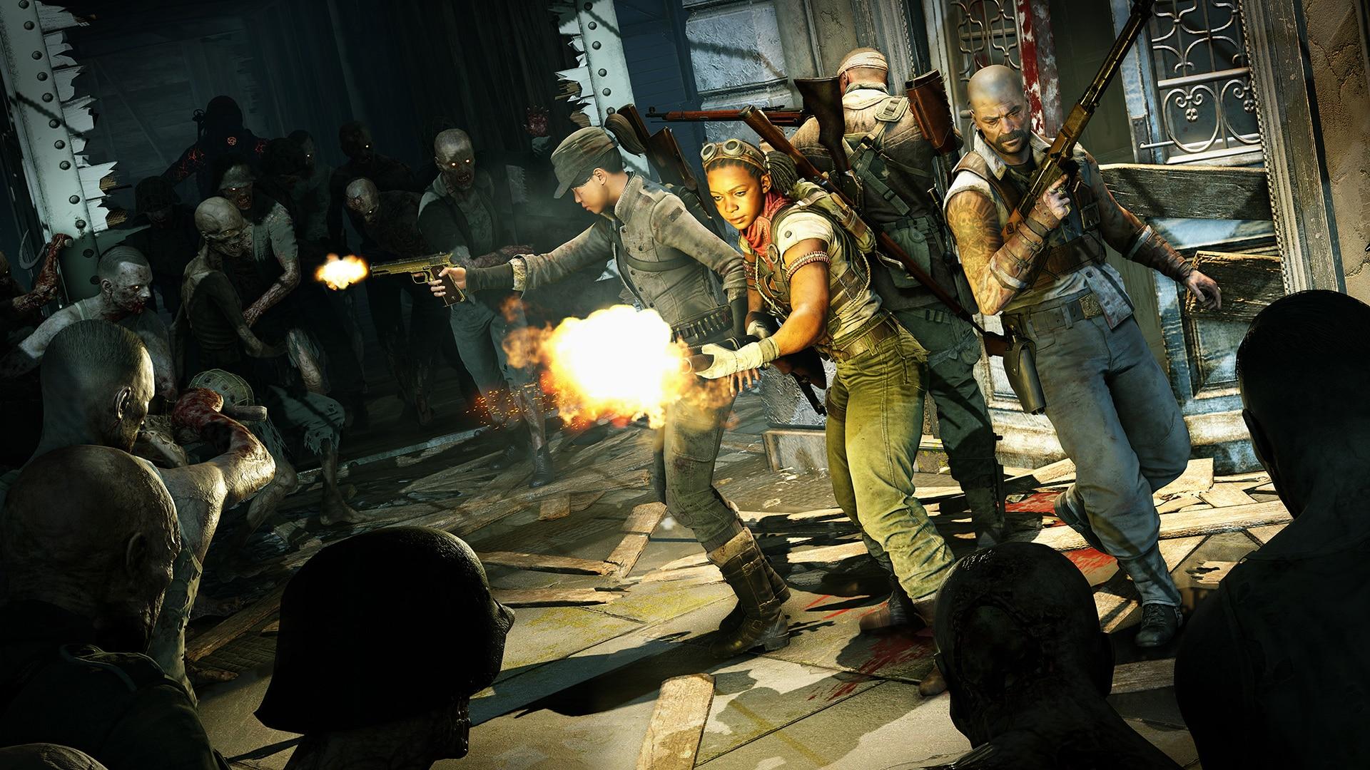Rebellion Developments Zombie Army 4: Dead War Nazi zombie storytelling narrative