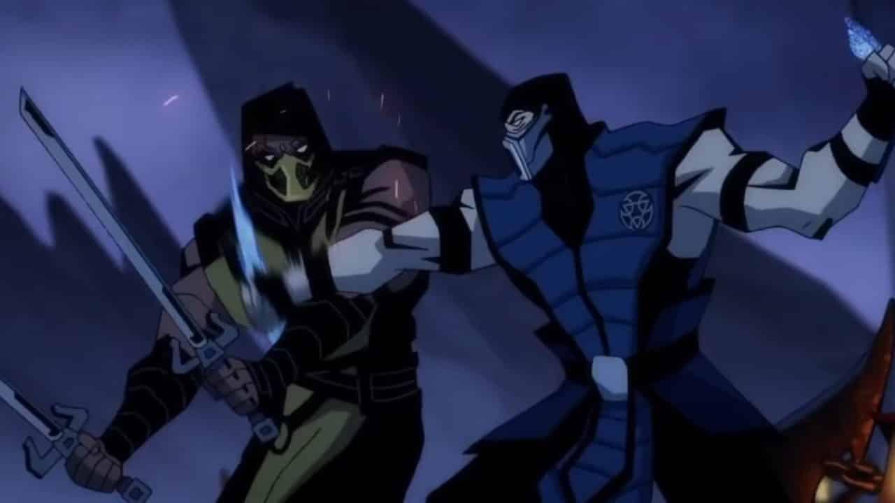 red band trailer netherrealm studios animated film Mortal Kombat Legends: Scorpion's Revenge