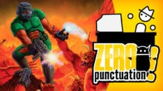 Doom retrospective Zero Punctuation Yahtzee Croshaw