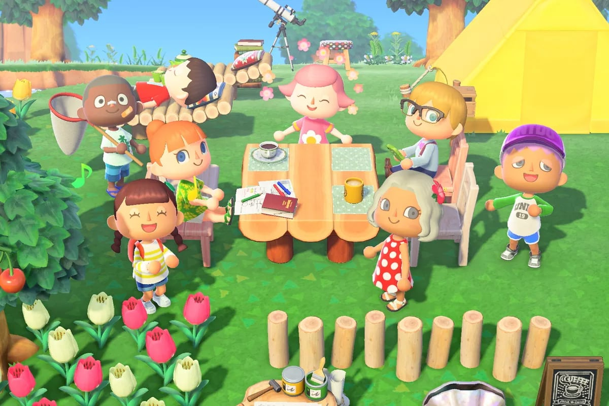nintendo animal crossing: new horizons game of the year goty the game awards