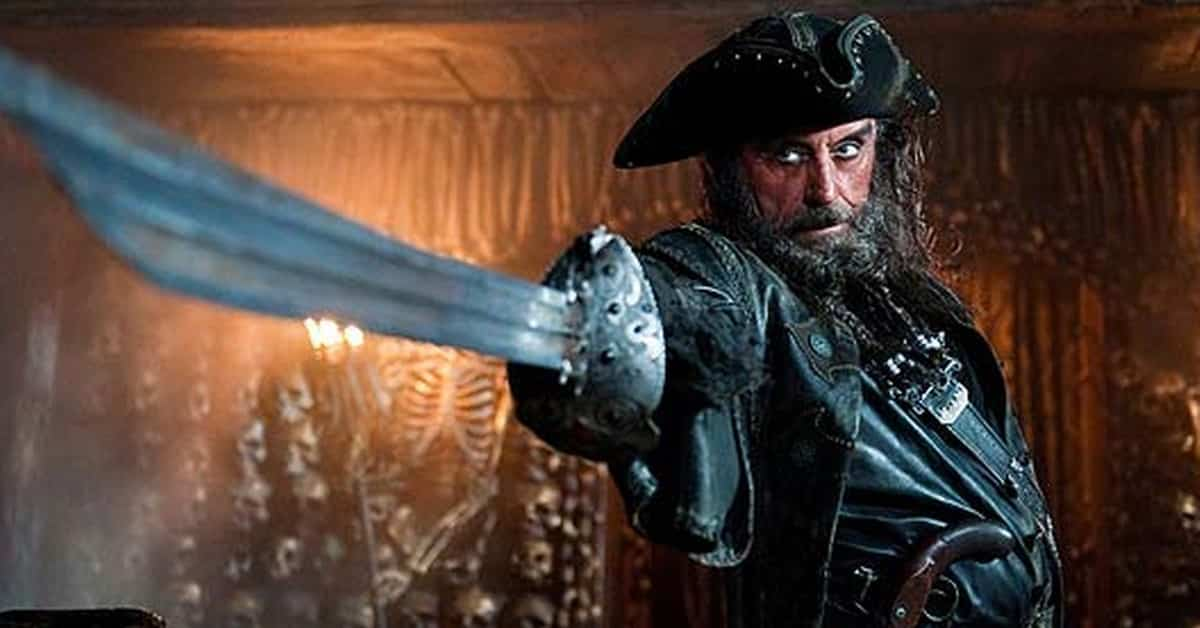 Pirates of the Caribbean Blackbeard Queen Annes Revenge ship copyright law North Carolina Allen legality