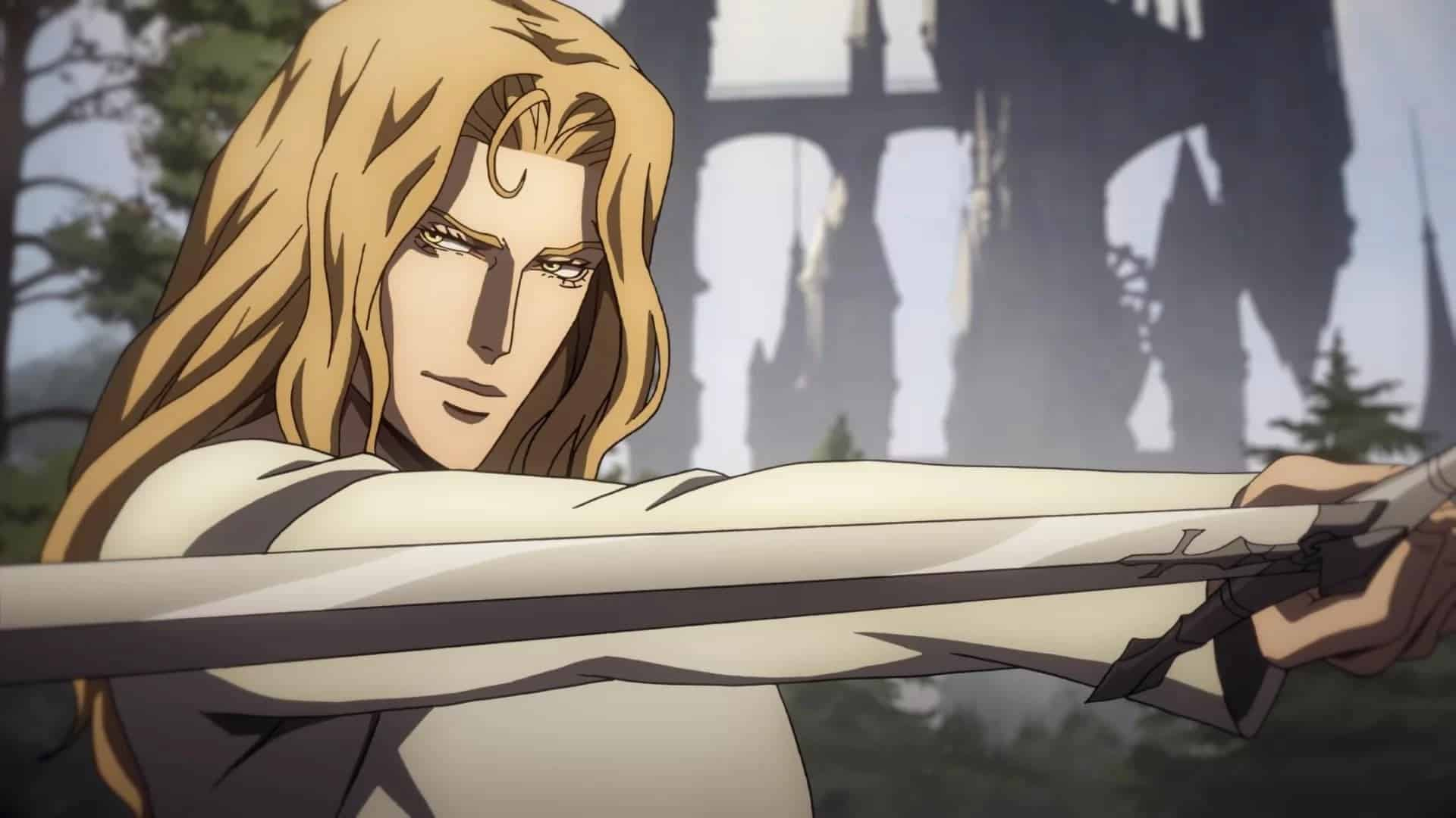 Castlevania season 3 episode 5 review A Seat of Civilisation and Refinement: Alucard trains with choppy animation