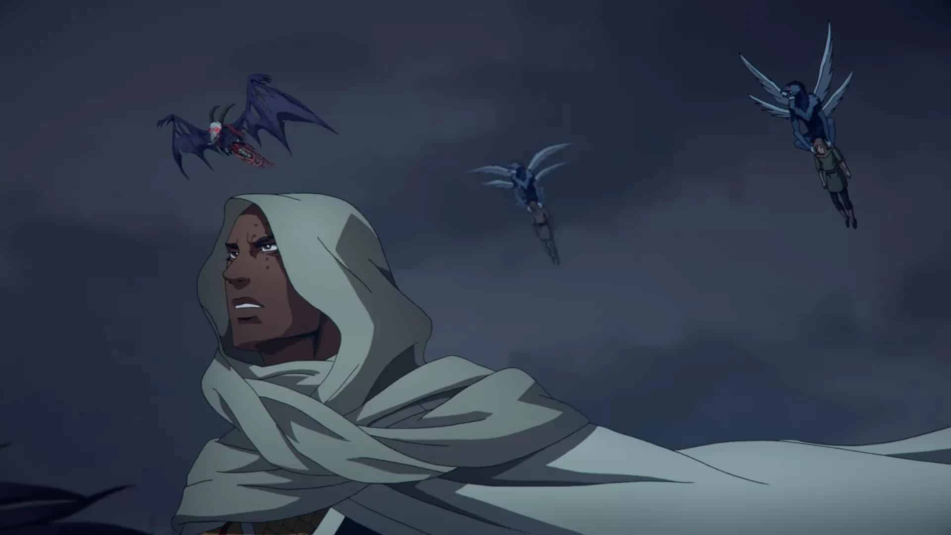 Castlevania season 3 episode 9 review The Harvest war, murder, sex threesome for some reason
