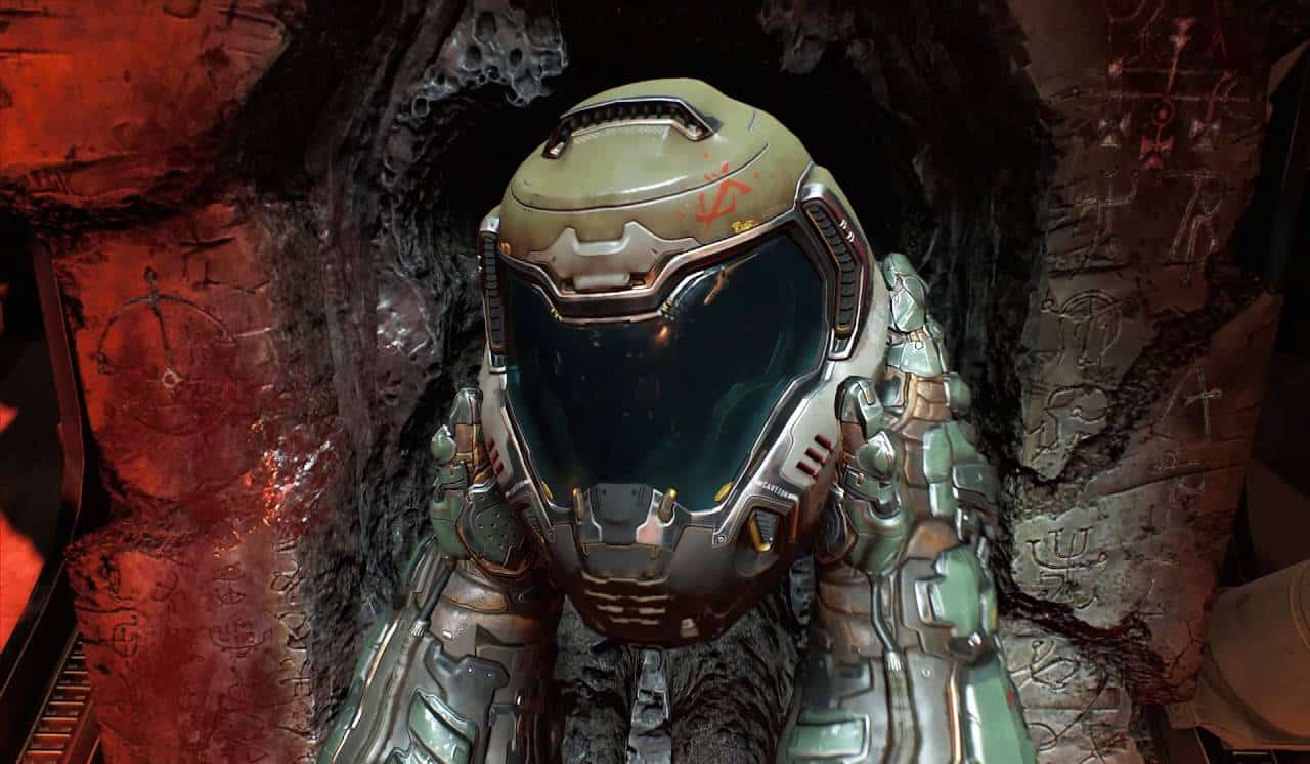 Marty Sliva Snapshot Doom 2016 opening is bloody, violent slapstick perfection via id Software, Bethesda