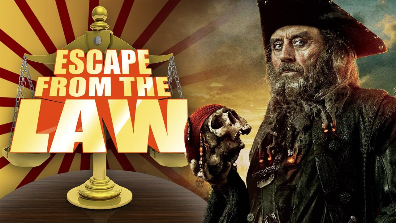 Blackbeard breaks copyright law pirate law legality North Carolina Frederick Allen states' rights