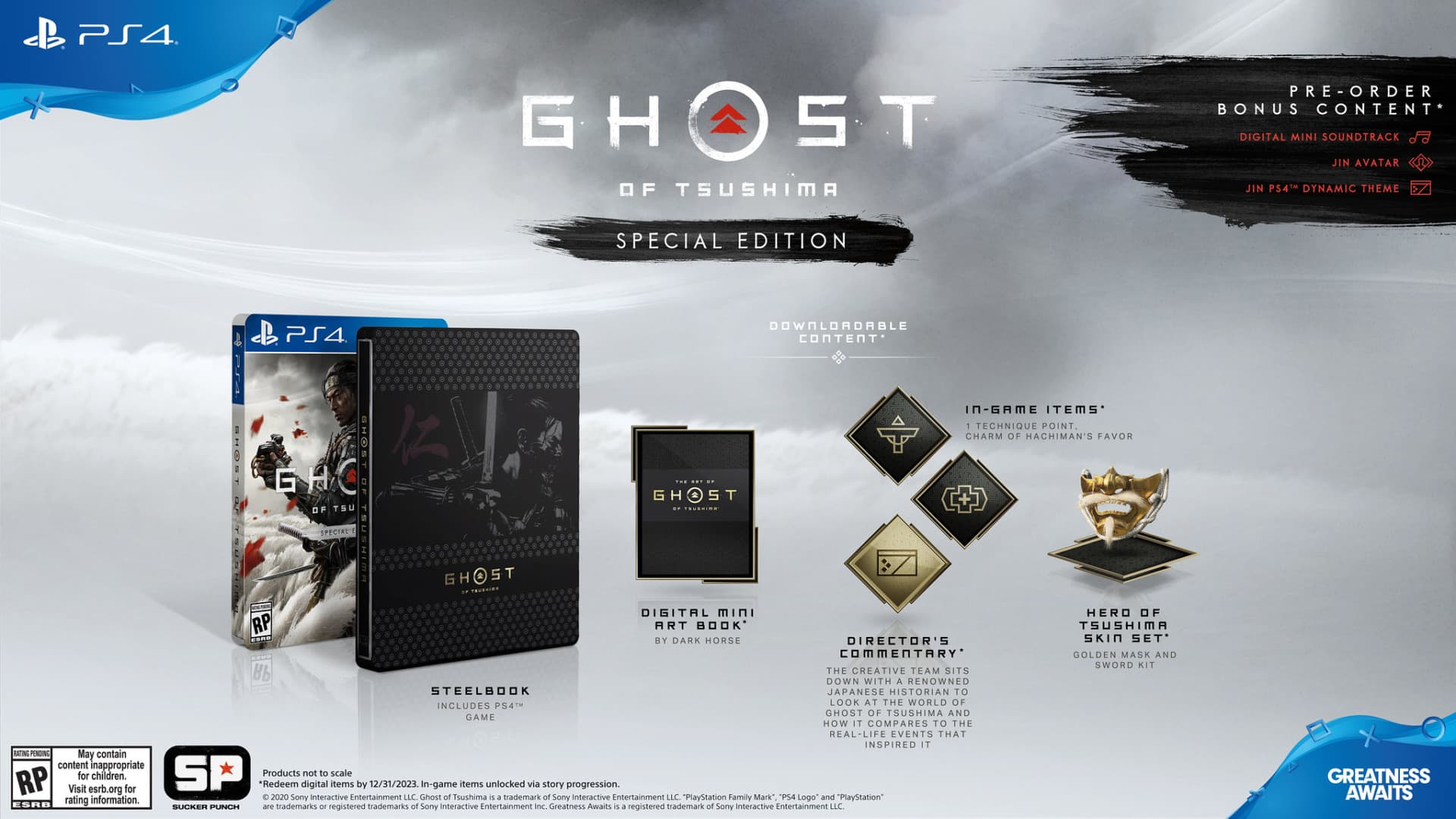 Ghost of Tsushima release date June 26 special edition details