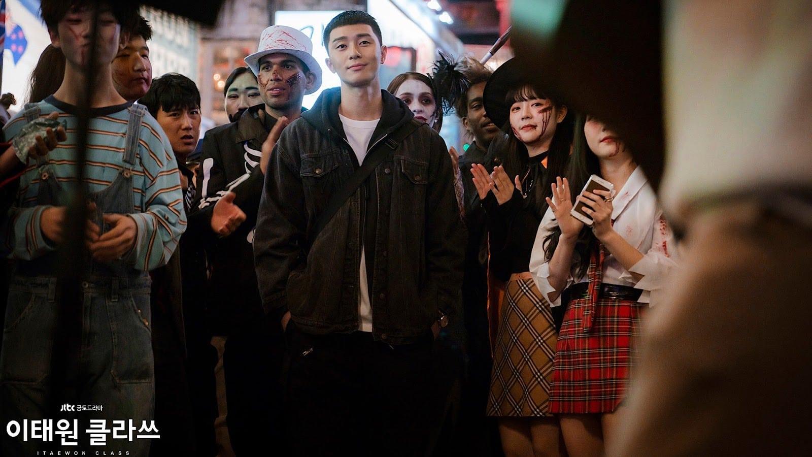 Korean drama K-drama Itaewon Class Park Sae-ro-yi and Chairman Jang Dae-hee gives hopeful message against COVID-19 coronavirus