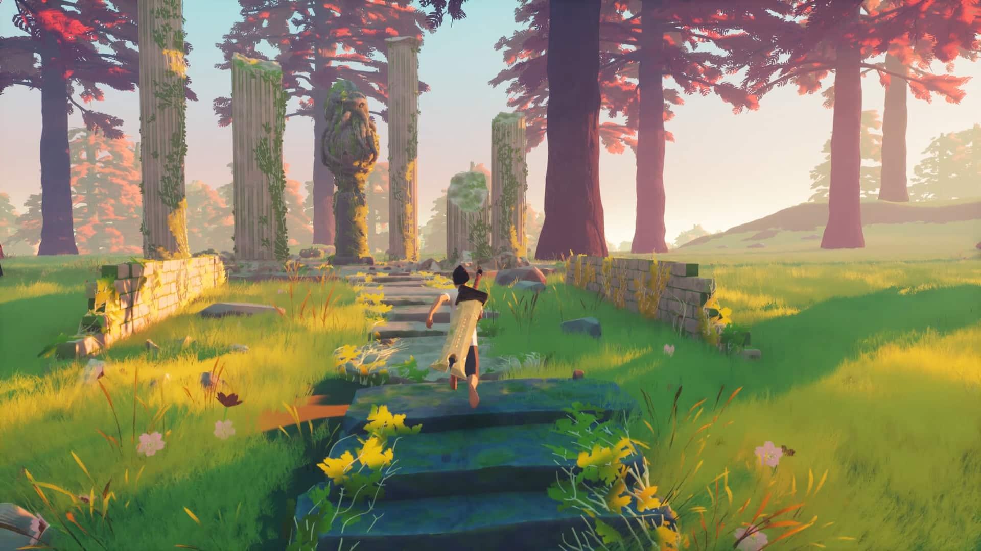Lucen interview Kristian Kebbe video game light dark game mechanics, Old Gods story is major focus