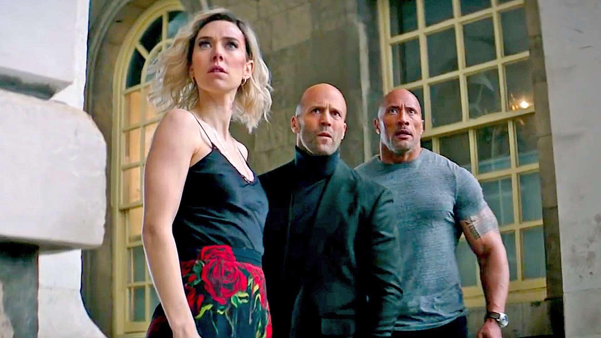 Hobbs & Shaw 2 Dwayne Johnson Jason Statham Fast & Furious spin-off
