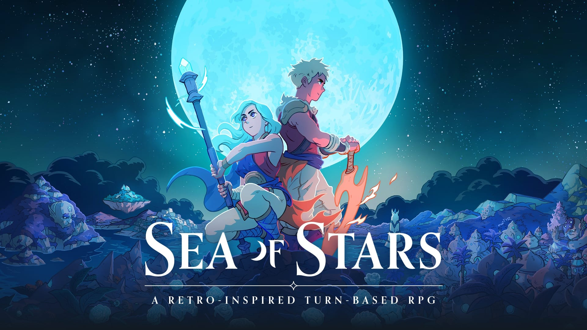 Sea of Stars Sabotage Studio Kickstarter RPG The Messenger
