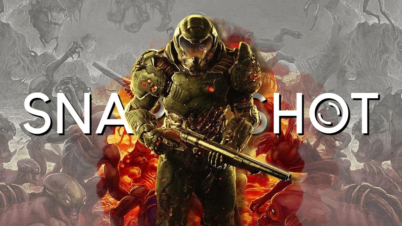 Marty Sliva Snapshot Doom 2016 opening intro is bloody, violent slapstick perfection via id Software, Bethesda