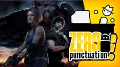 resident evil 3 review zero punctuation yahtzee croshaw