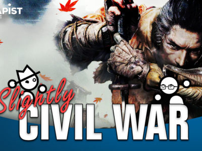 Slightly Civil War: Yahtzee Croshaw & Jack Packard discuss difficulty options / settings in Dark Souls types of games