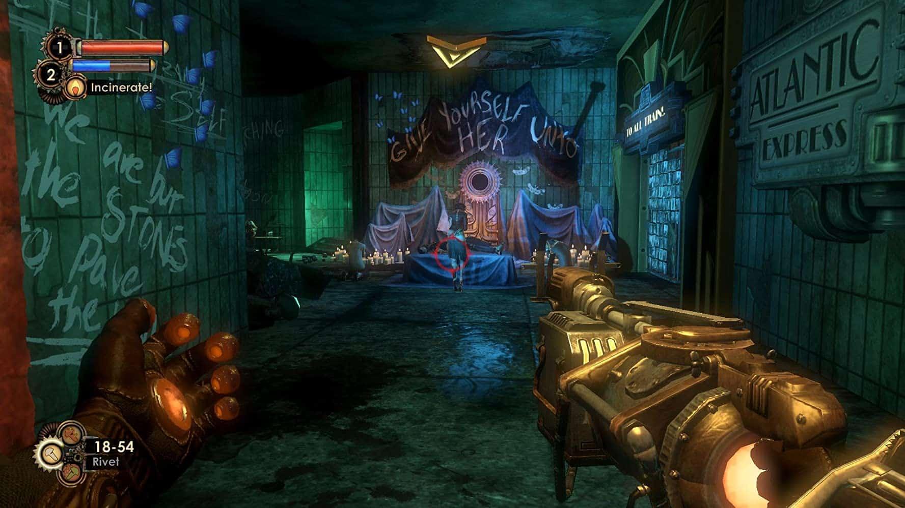 BioShock 2 from 2K Marin is the best one, better than BioShock Infinite