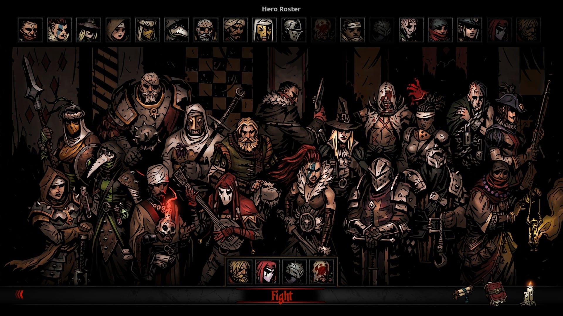 multiplayer pvp DLC Darkest Dungeon: The Butcher's Curse