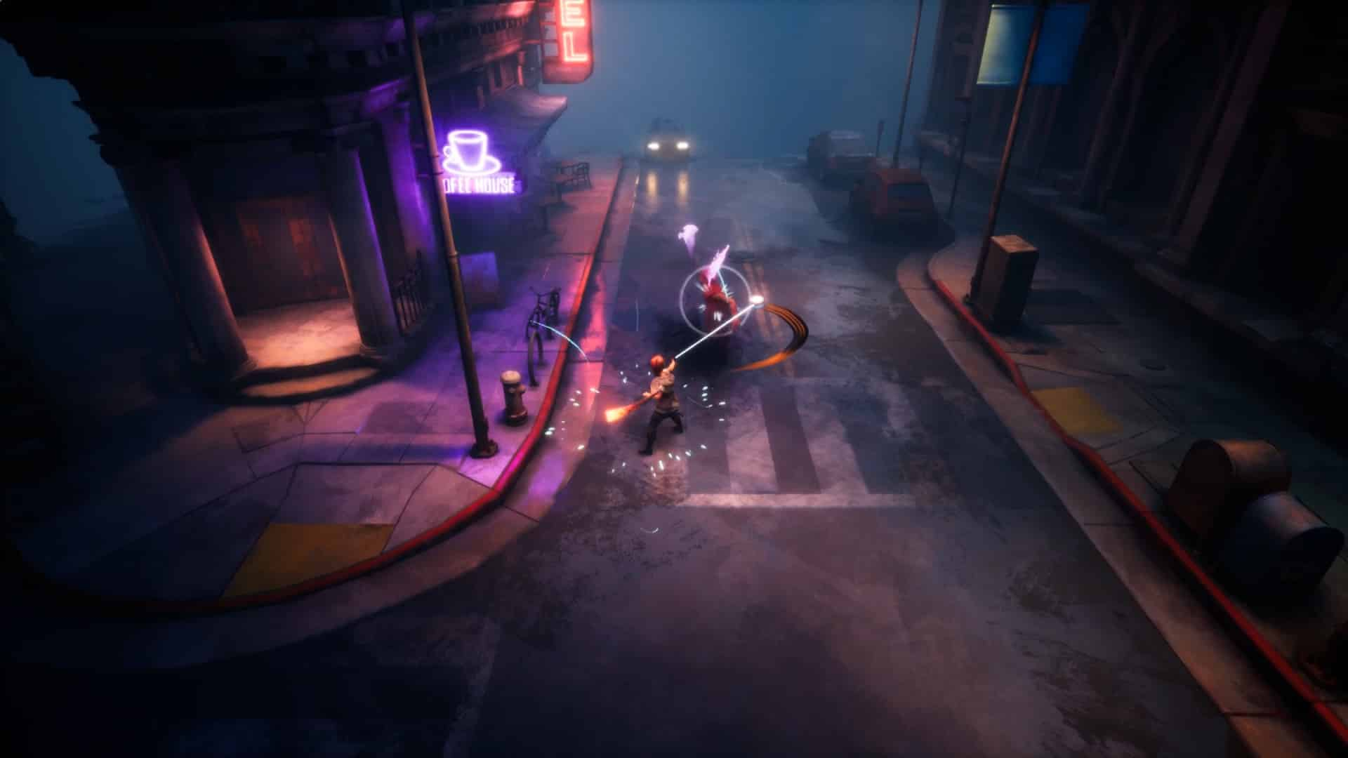 Dreamscaper: Prologue preview roguelite action RPG Afterburner Studios like Transistor and Catherine