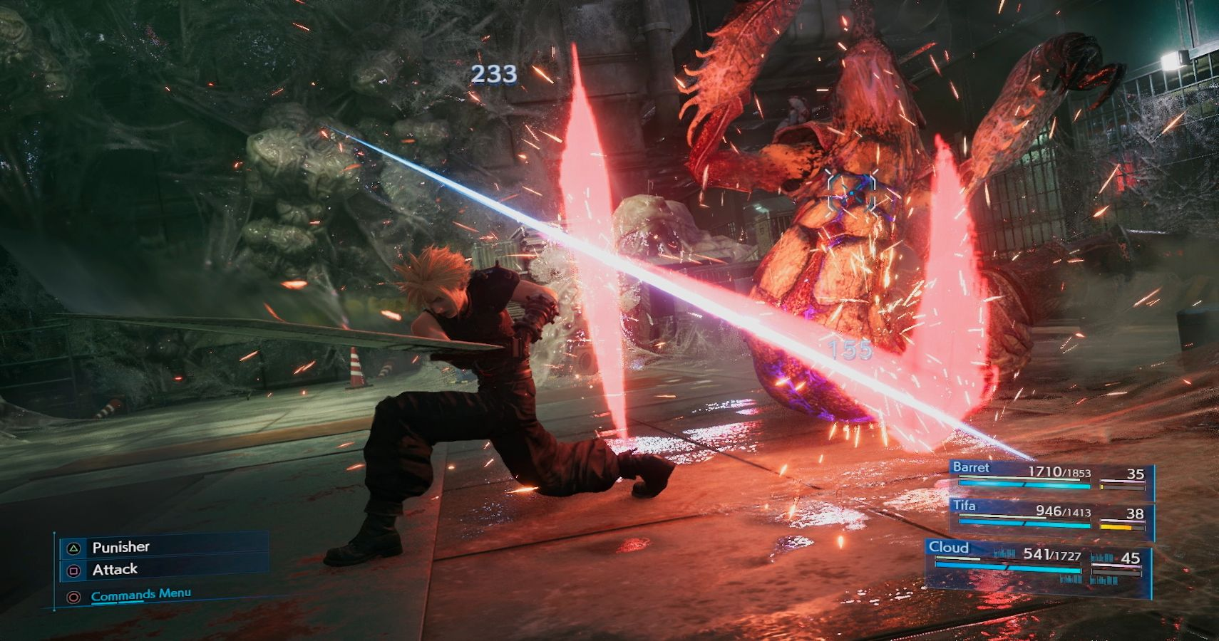 Final Fantasy VII Remake combat system problems, needs Final Fantasy XII Gambit system for party members