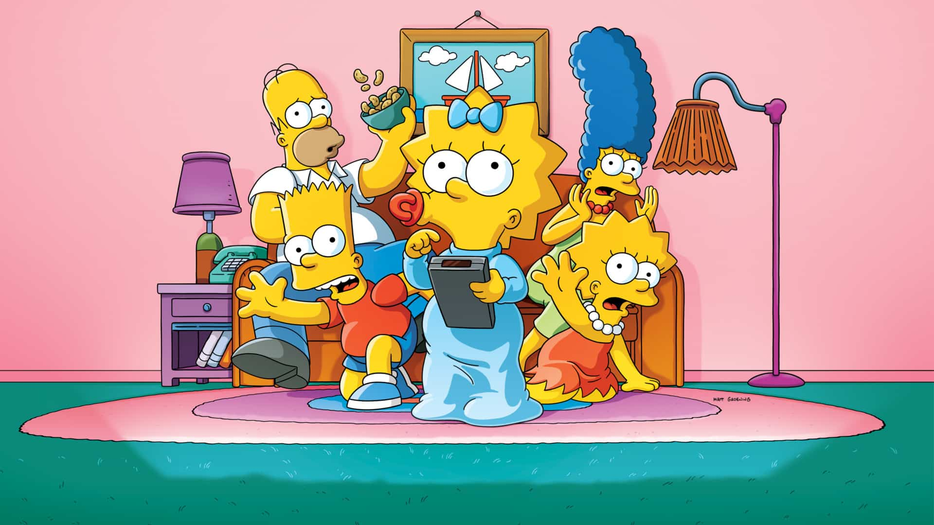 The Simpsons aspect ratio 4:3 on Disney+ Disney Plus in May
