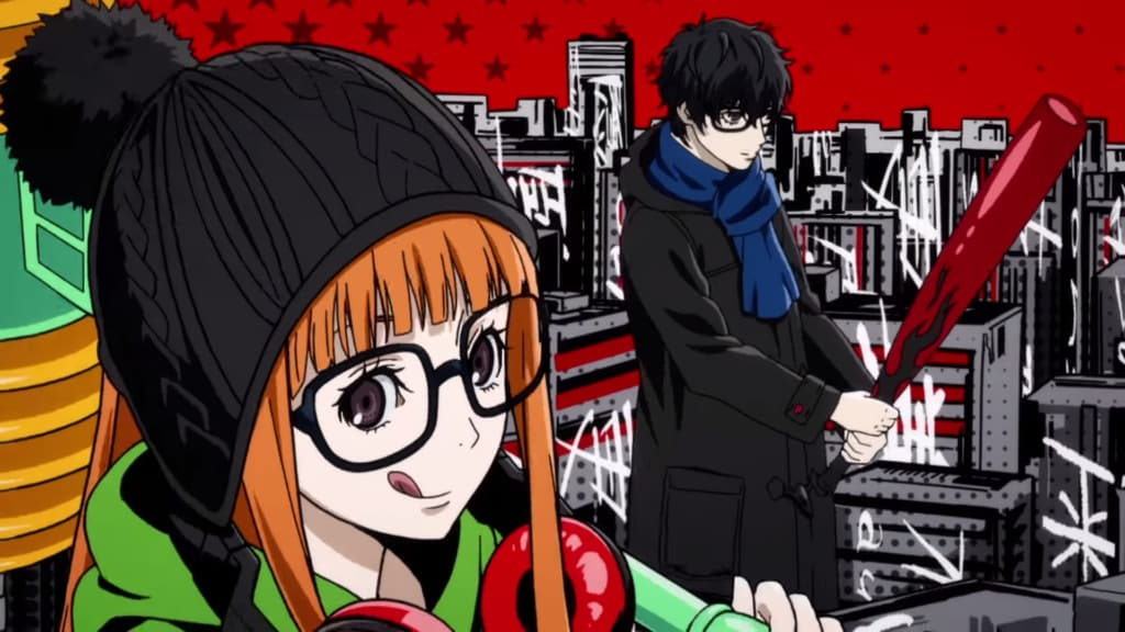 Persona 5 Royal quiet night RPG magic in Tokyo
