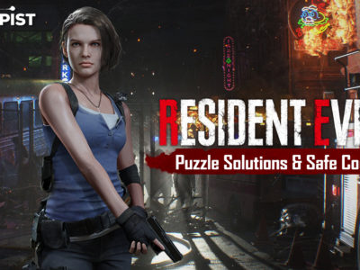 Resident Evil 3 guide all puzzle solutions safe codes locations