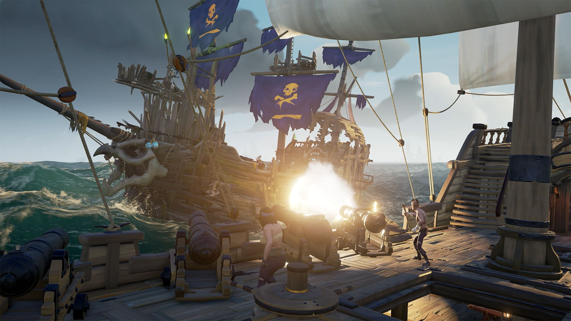 Microsoft Rare Sea of Thieves Tall Tales reimagines video game narrative storytelling with live cutscenes and lived-in experience
