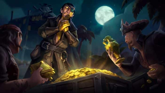 Sea of Thieves Ships of Fortune update player data on Emissary flags, PVP, the Reaper's Bones