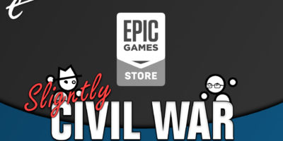 Slightly Civil War boycott Epic Games Store Exclusives Yahtzee Croshaw and Jack Packard