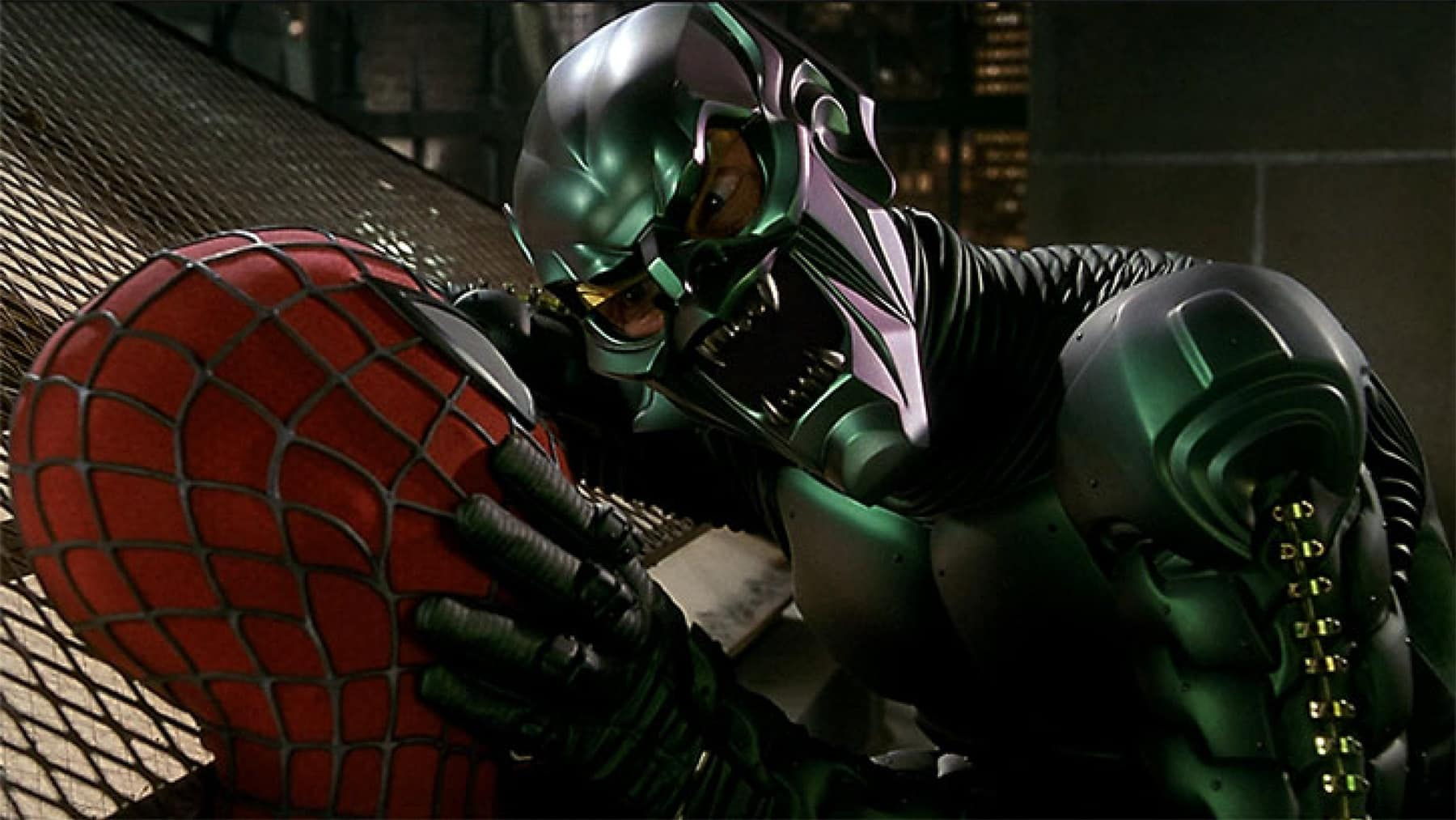 sam raimi spider-man green goblin
