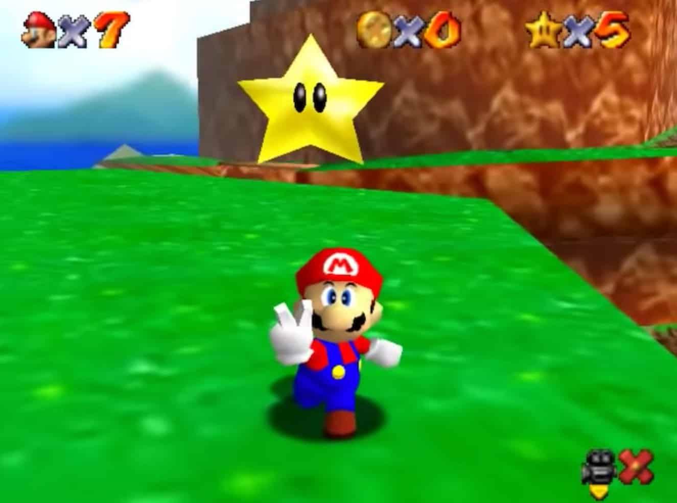 Super Mario 64 remaster Super Mario Bros. 35th anniversary Nintendo