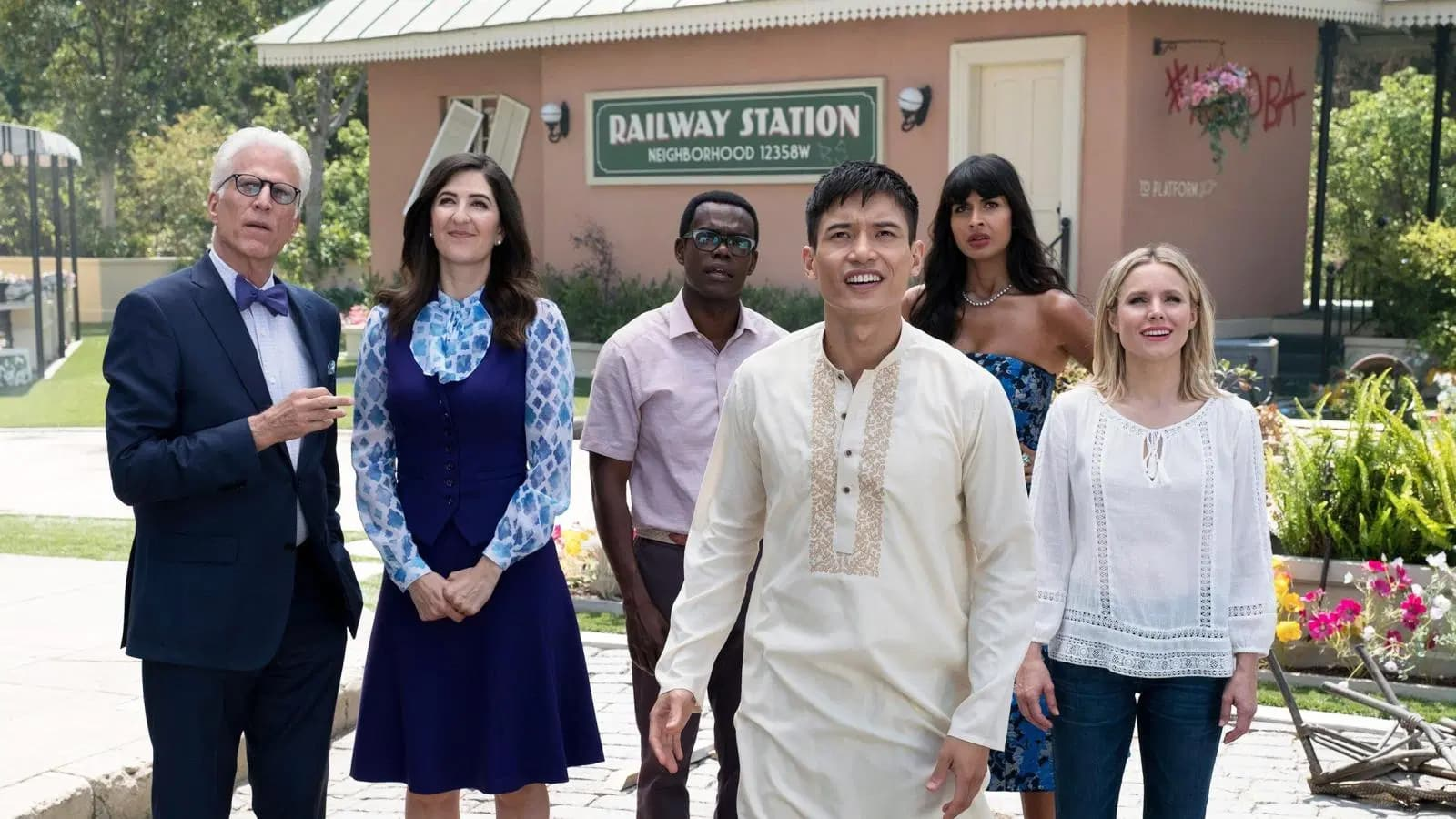 Star Trek: The Next Generation optimism in Michael Schur: The Good Place, Brooklyn Nine-Nine, Parks and Recreation