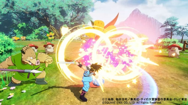 Infinity Strash – Dragon Quest: The Adventure of Dai Tamashii no Kizuna Bonds of Souls Xross Blade Square Enix