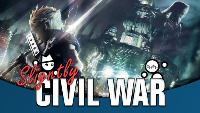 Slightly Civil War Final Fantasy VII Remake rip-off Yahtzee Croshaw Jack Packard