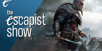 The Escapist Show Jack Packard Nick Calandra Ubisoft Valhalla Jesper Kyd no level gating Assassin's Creed Valhalla