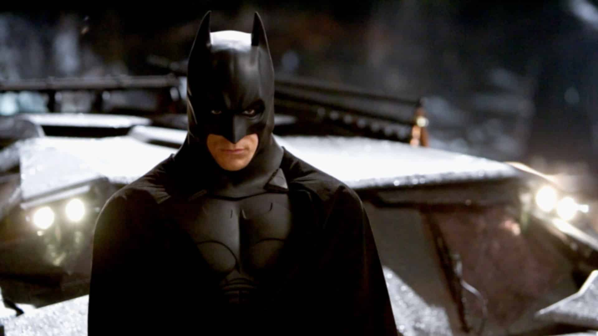 Christian Bale Val Kilmer Batman versatility character different film versions canon Batman Begins