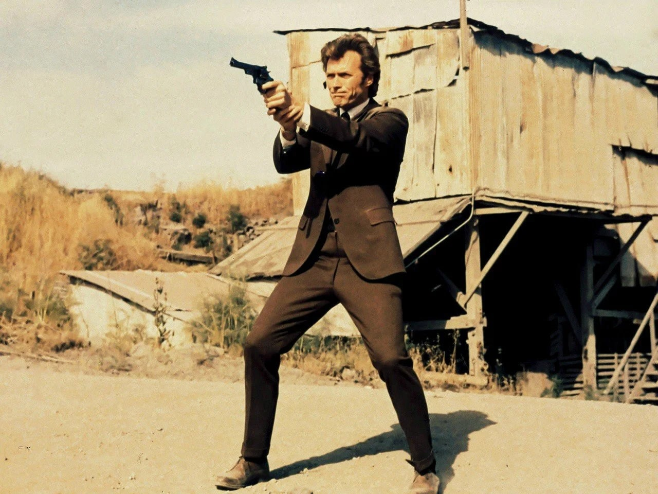 Clint Eastwood American masculinity exploration complexity Dirty Harry