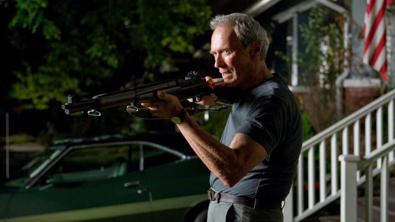 Clint Eastwood American masculinity exploration complexity Gran Torino