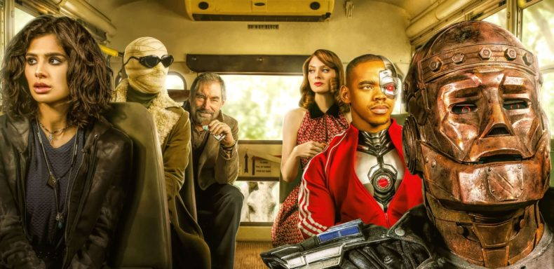 doom patrol on hbo max only, no other dc universe content