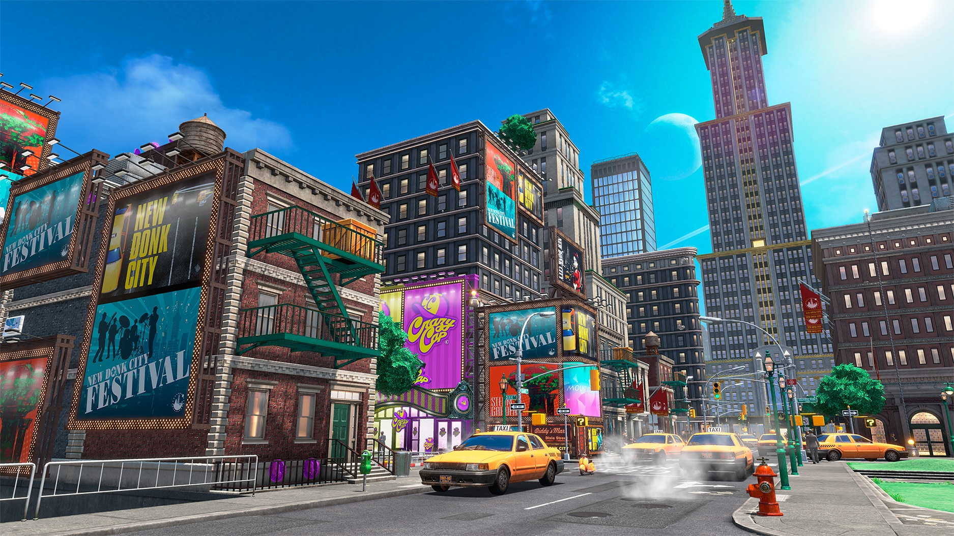 Super Mario Odyssey New Donk City Nintendo perfection