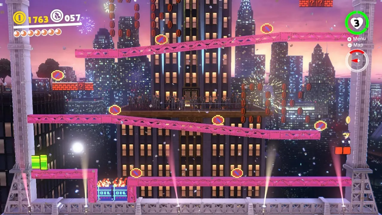 Super Mario Odyssey New Donk City Jump Up Super Star! Nintendo perfection
