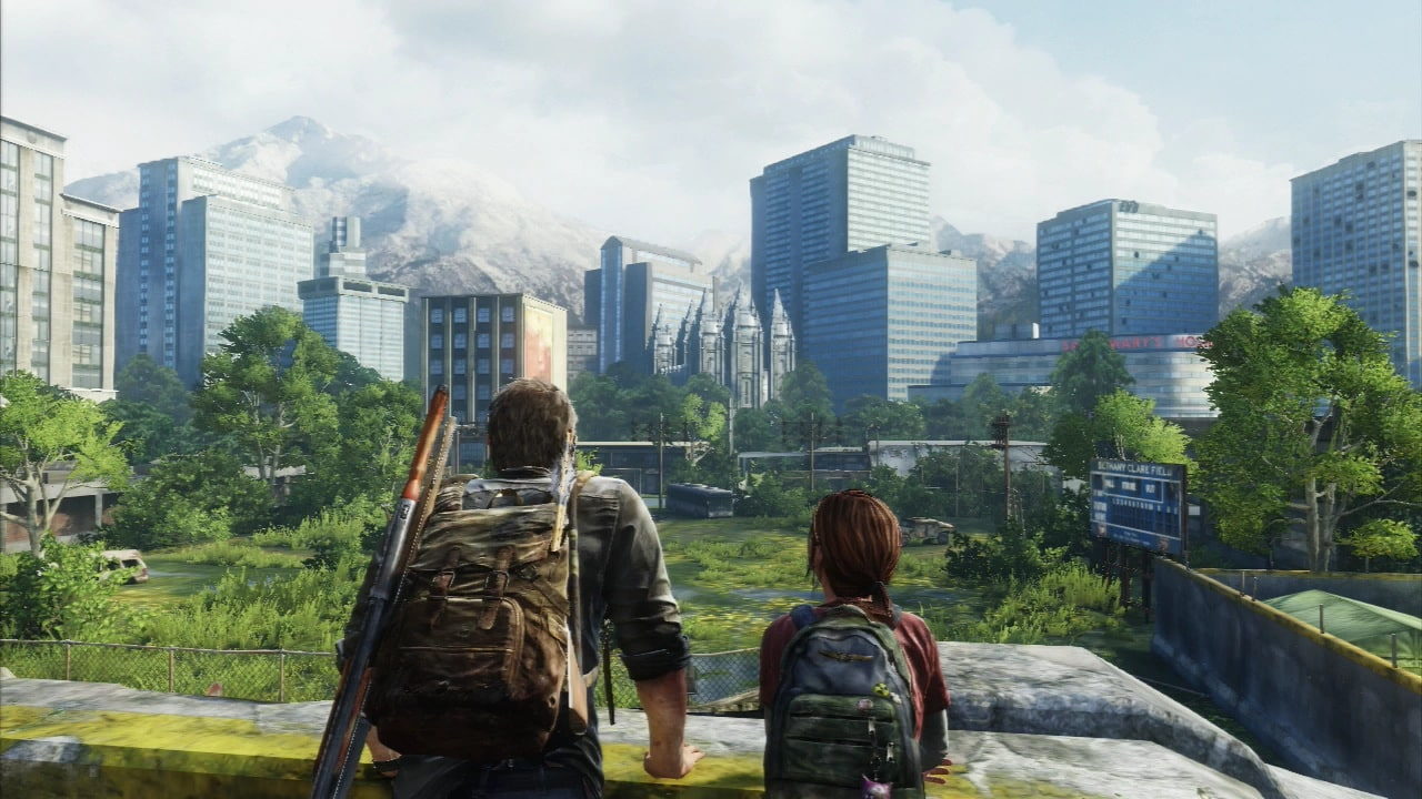 The Last of Us most memorable moment quietest moment with Joel, Ellie, giraffes - Naughty Dog