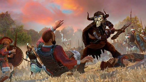 Epic Games Store, A total war saga: Troy, sega, creative assembly, gameplay