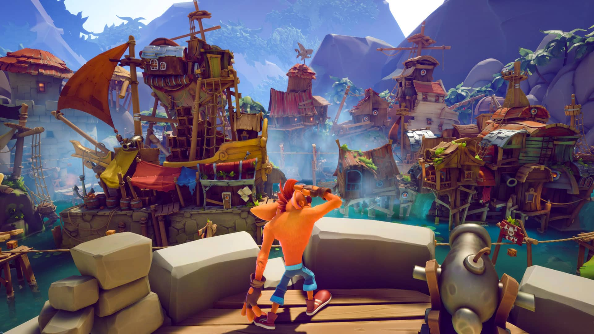 activision toys for bob trailer Crash Bandicoot 4: It's About Time