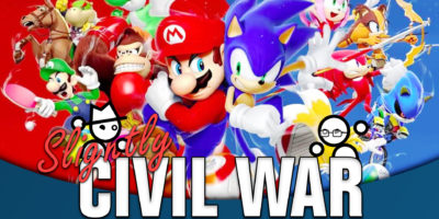 Slightly Civil War Mario Sonic debate Jack Packard Yahtzee Croshaw
