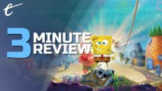SpongeBob SquarePants: Battle for Bikini Bottom - Rehydrated review in 3 minutes review Purple Lamp Studios THQ Nordic