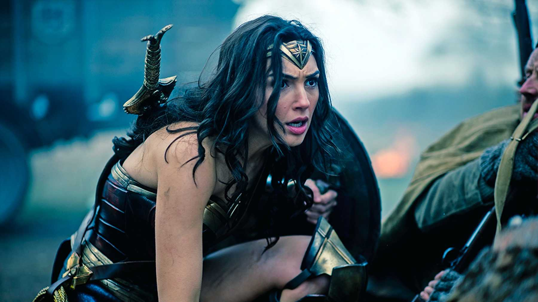 movie 2017 Wonder Woman is about what it means to be a good hero, morals, and justice, flawed human nature, Patty Jenkins Gal Gadot