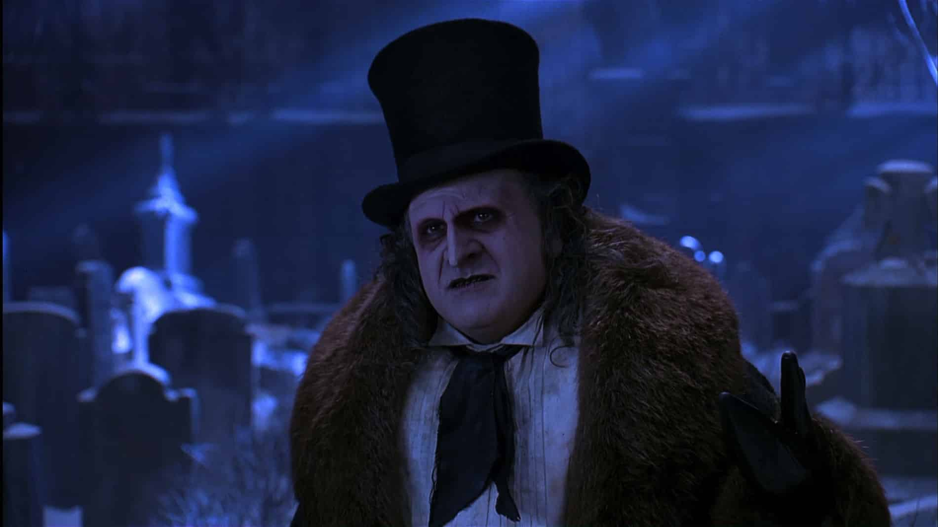 Have Yourself a Weird, Horny, Lonely Little Christmas with Batman Returns Tim Burton Michael Keaton DC Comics movie Penguin Catwoman Max Shreck