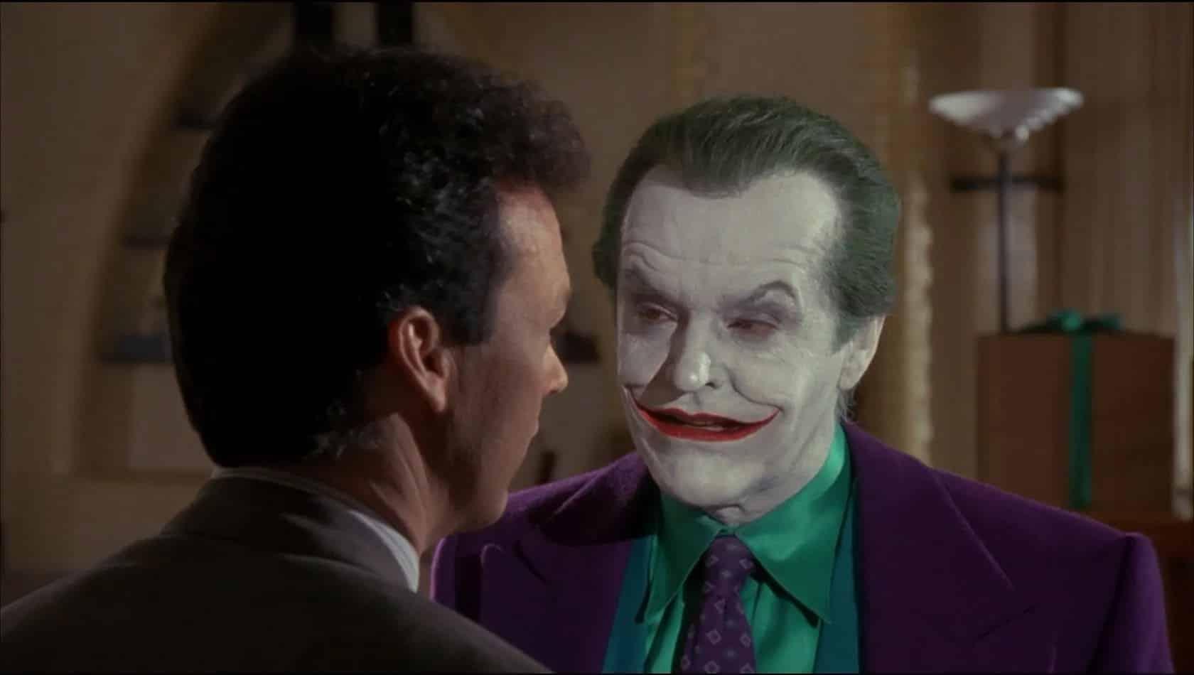 Michael Keaton Batman Returns Tim Burton unique Batman take of Bruce Wayne man child Jack Nicholson Joker