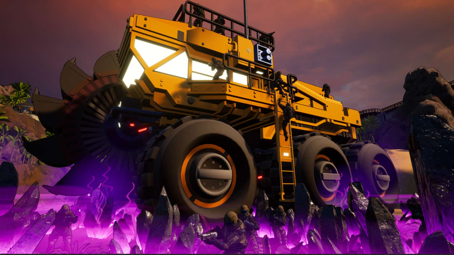 demo preview Earthbreakers Petroglyph Games FPS RTS base destruction
