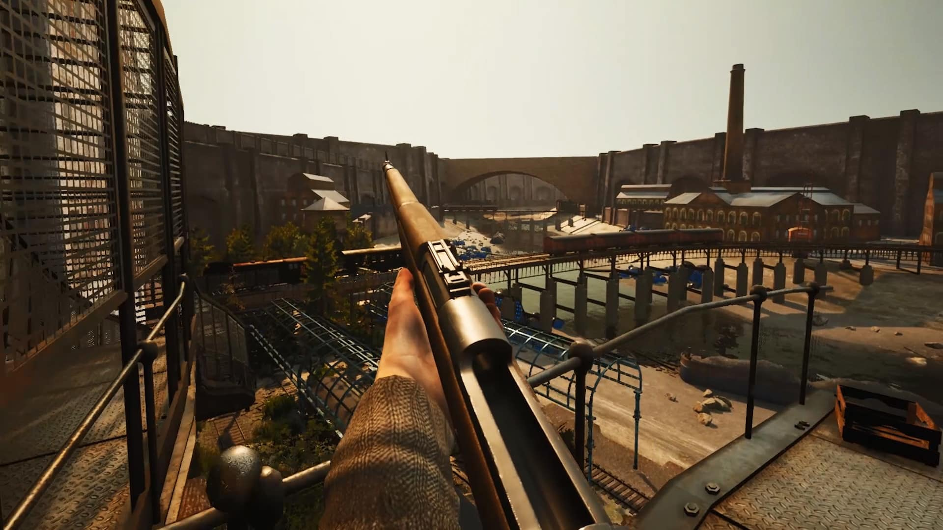 Industria preview demo Bleakmill Headup Games first-person shooter FPS BioShock Penumbra